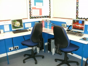 One of the learning rooms at the Tuition Centre Dereham